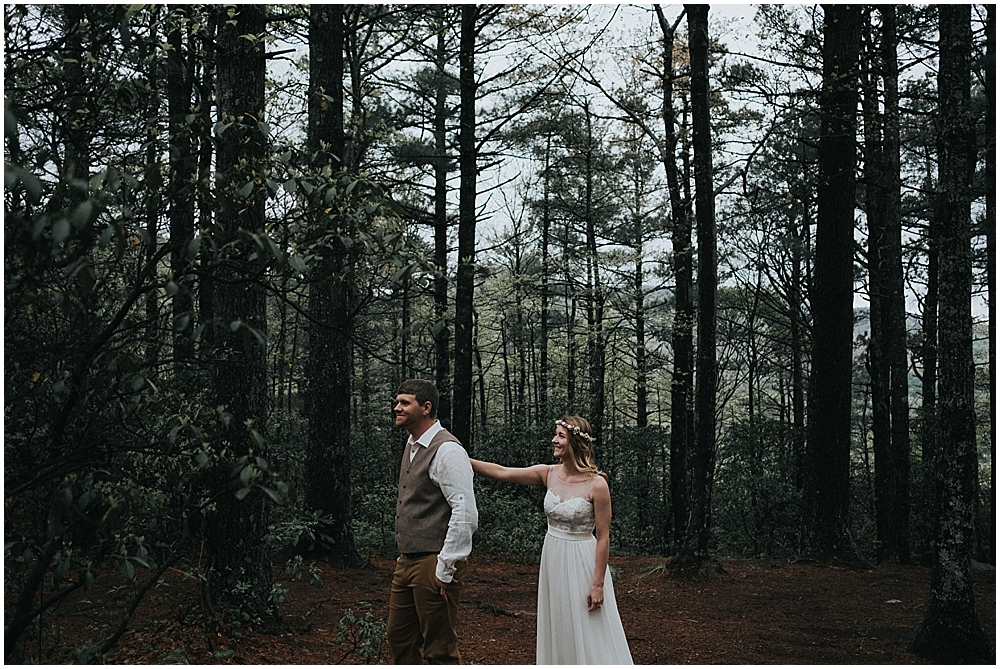 Asheville North Carolina elopement photographer