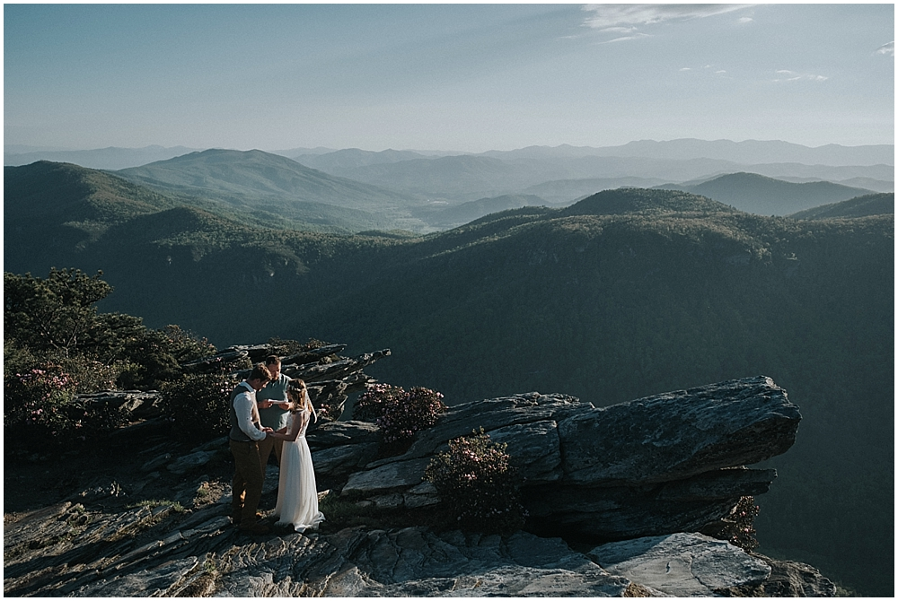 Asheville North Carolina elopement