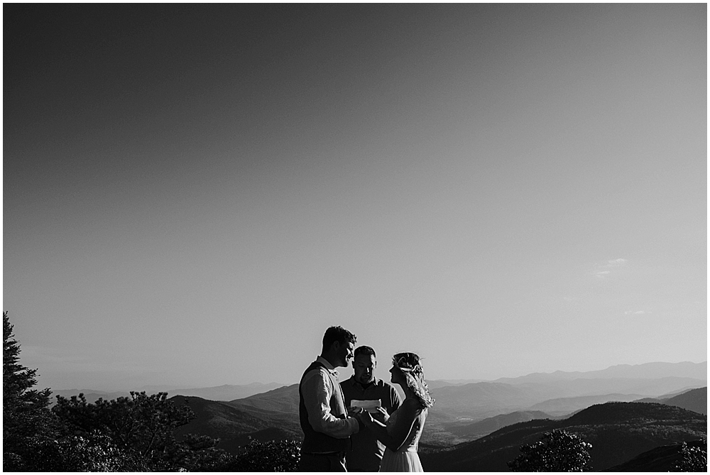 elopement Asheville North Carolina