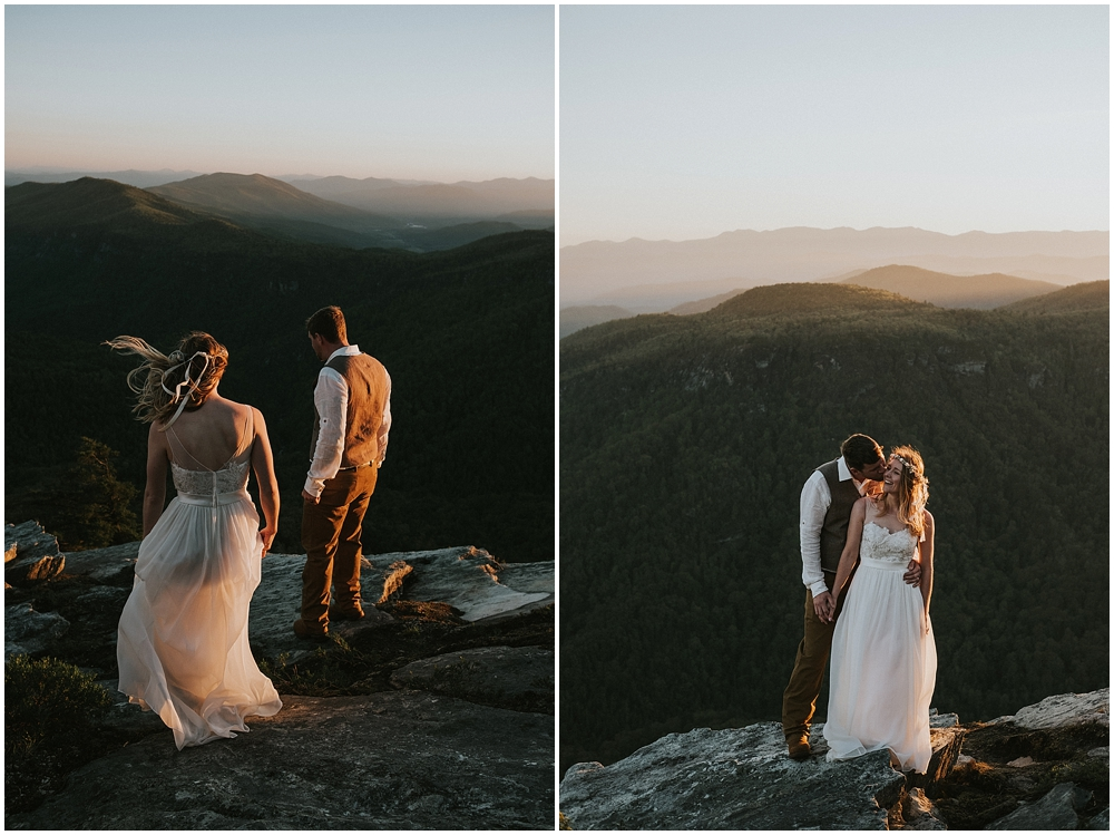 mountain elopement Asheville