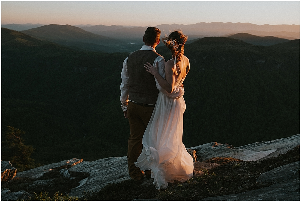 Asheville North Carolina mountain wedding