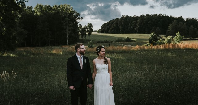 Hannah + Matt | North Carolina Barn Wedding