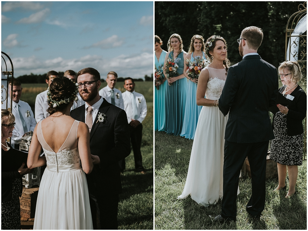 Raleigh outdoor wedding