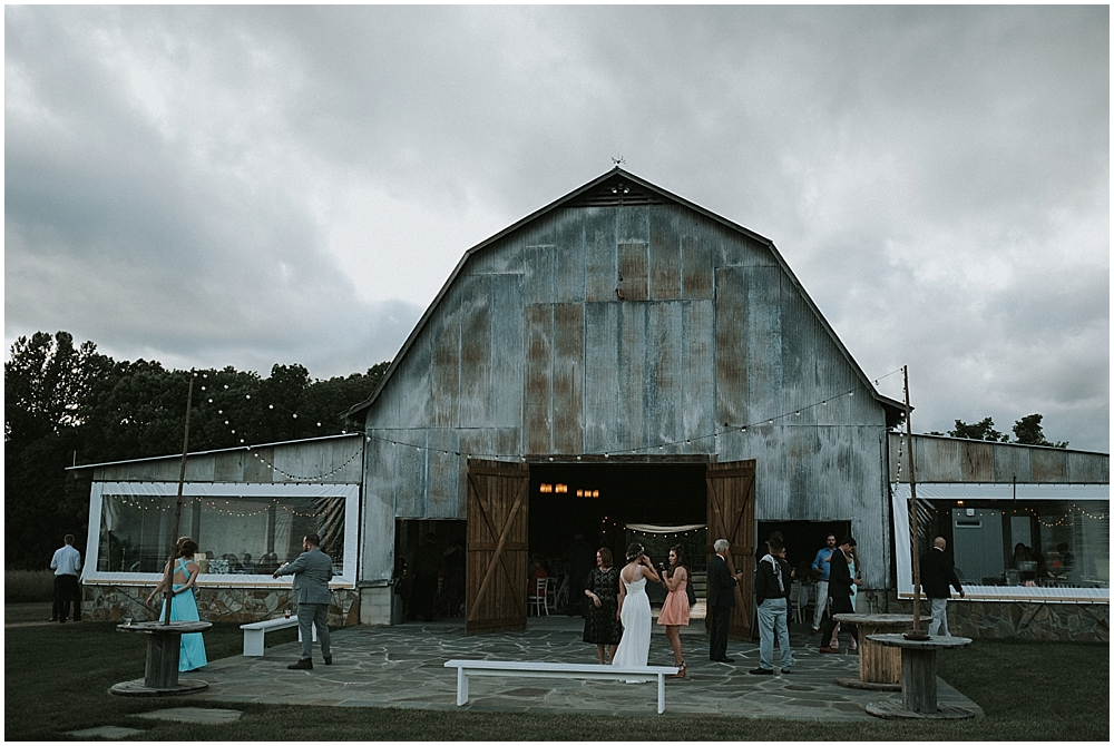 Raleigh barn wedding