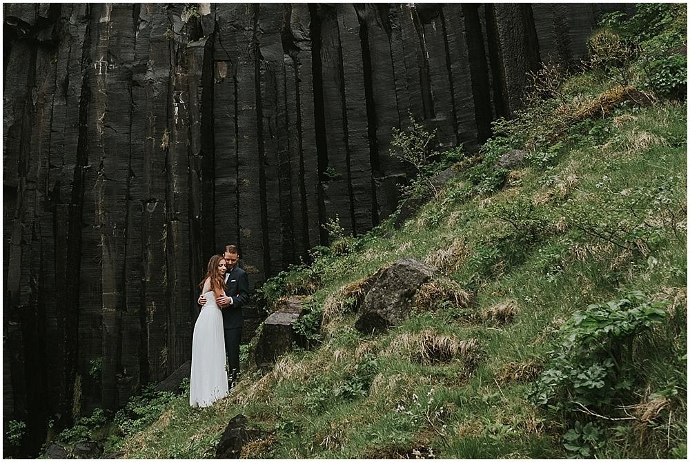Iceland Elopement svartifoss
