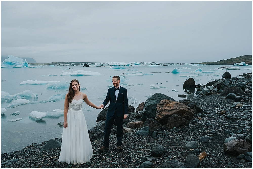 Jökulsárlón wedding photographer