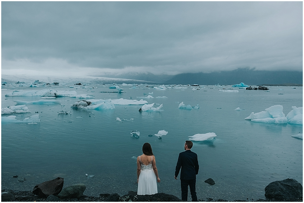 Jökulsárlón Iceland wedding