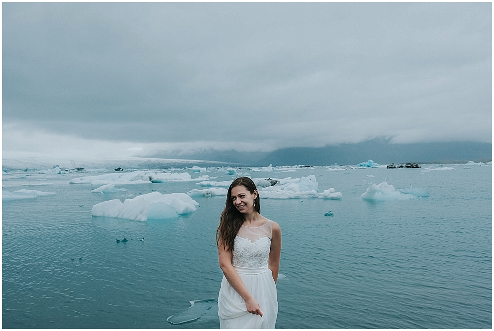 Iceland winter wedding