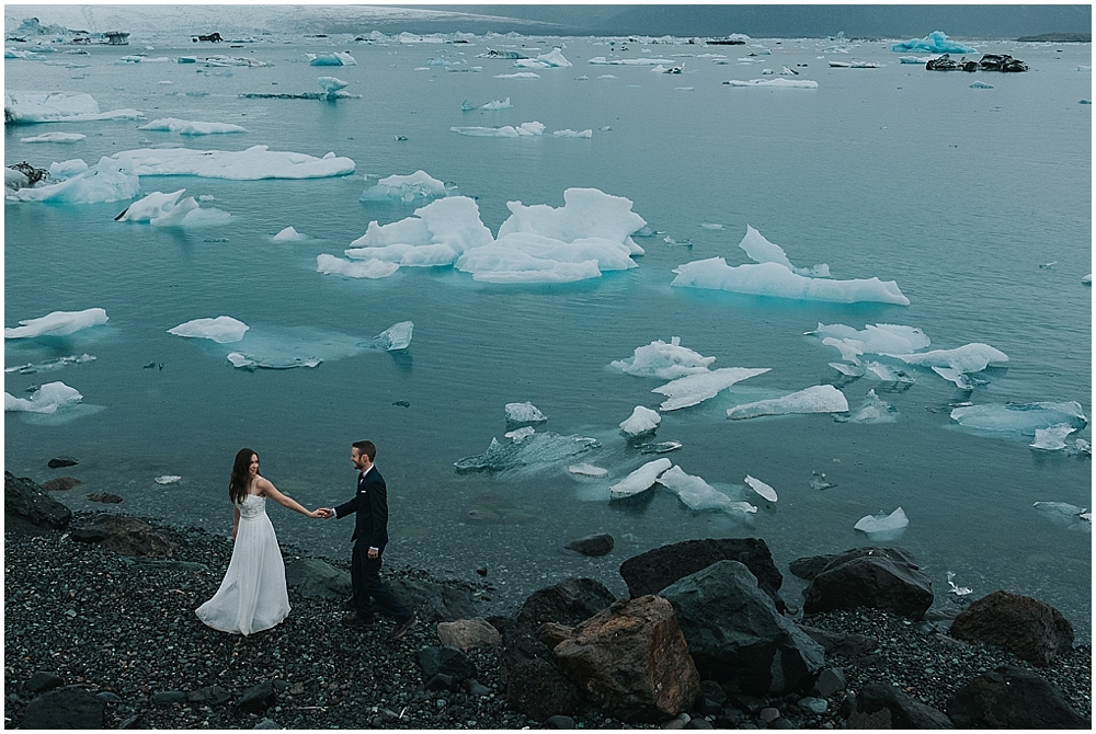 Iceland adventure wedding