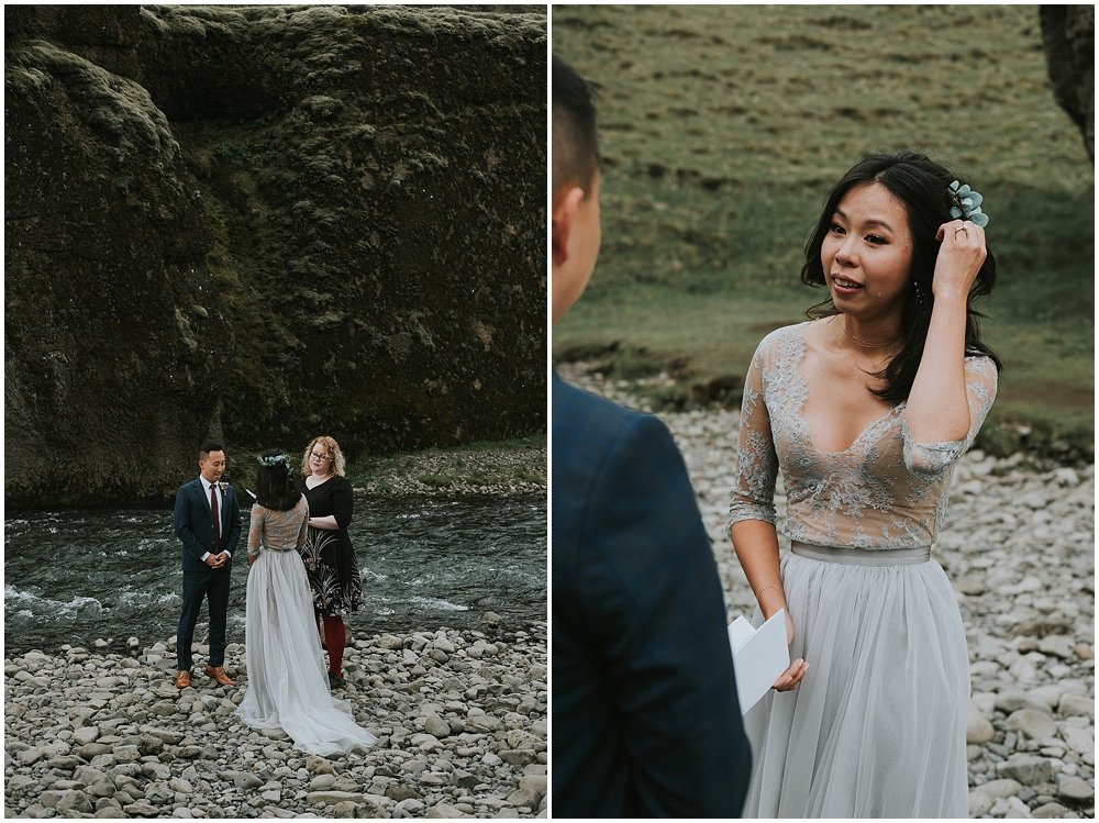 Adventure Elopement in South Iceland