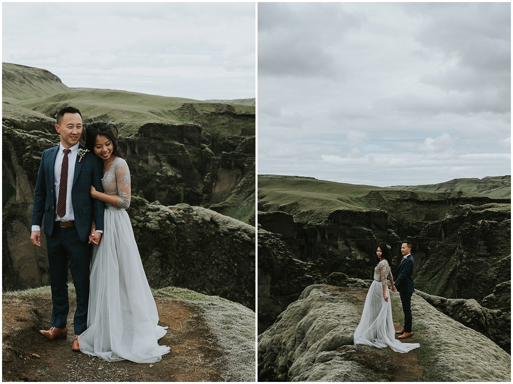 Elopement in South Iceland