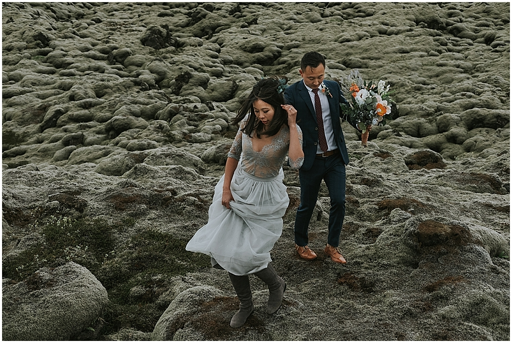 Epic Iceland elopement