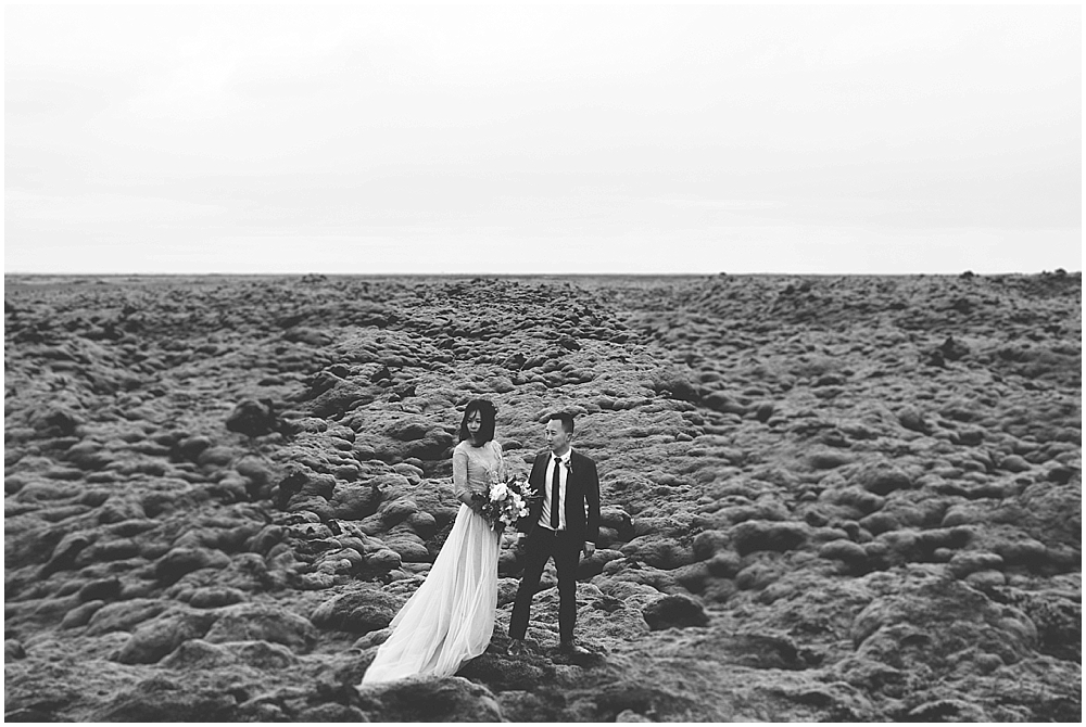 Epic iceland wedding