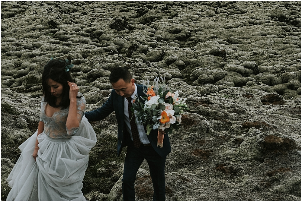 epic south iceland wedding