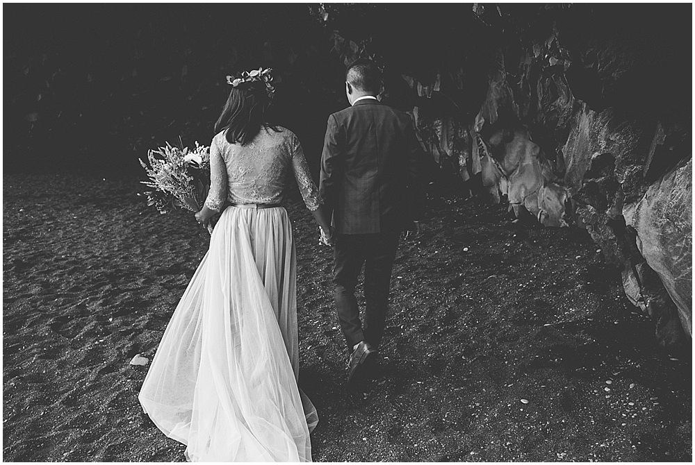 Destination elopement Iceland