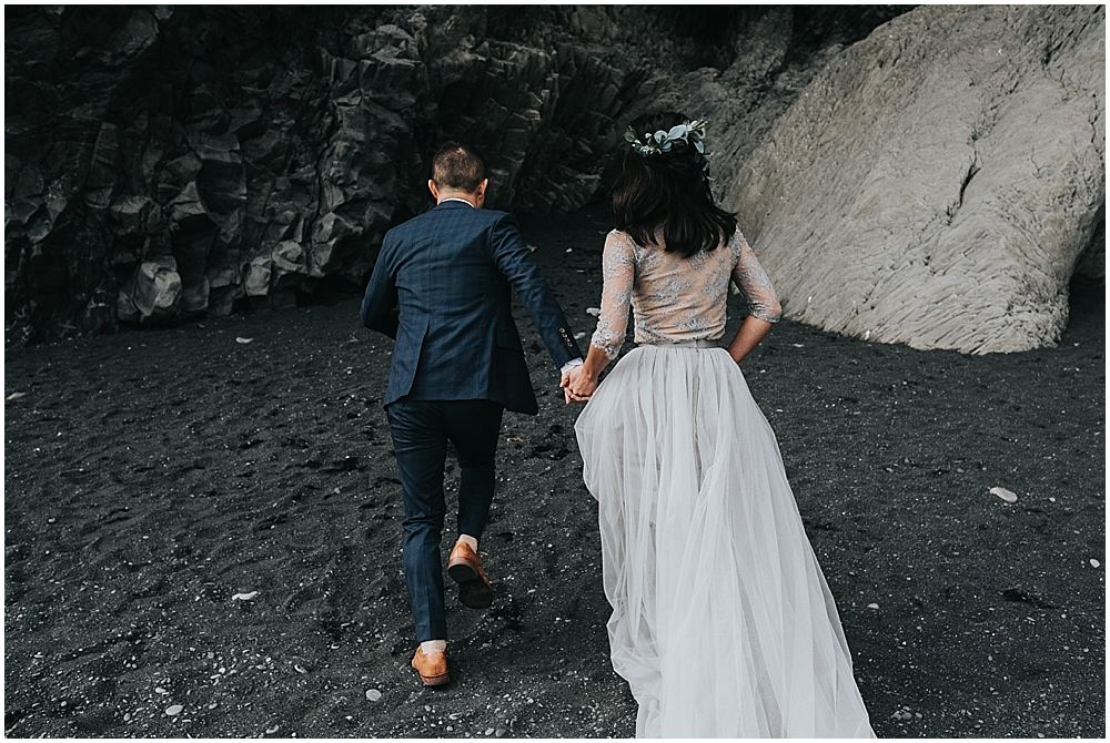 Reynisfjara beach ceremony