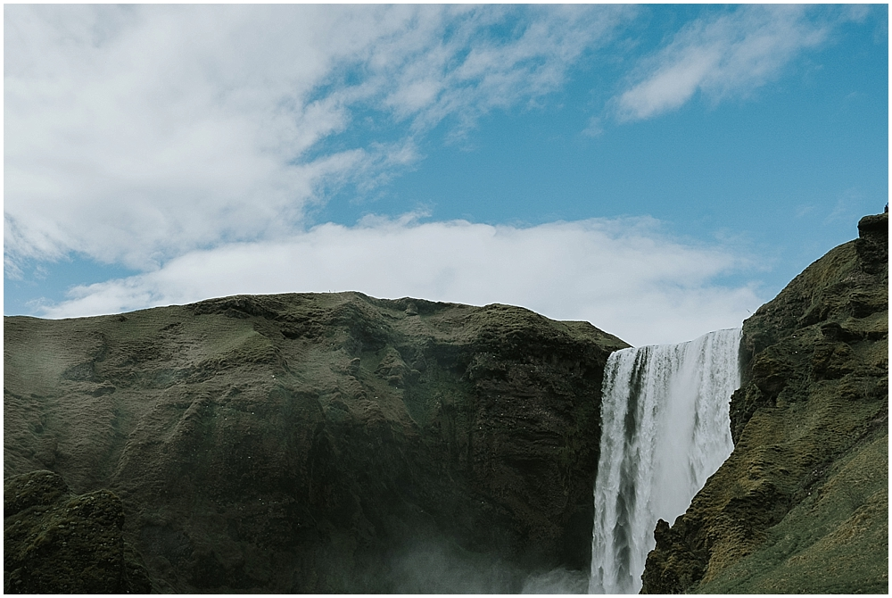 Iceland Skogafoss wedding
