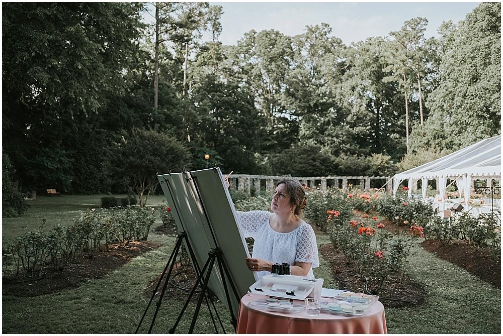 Raleigh wedding painter