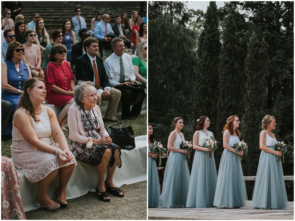 Raleigh Rose Garden wedding