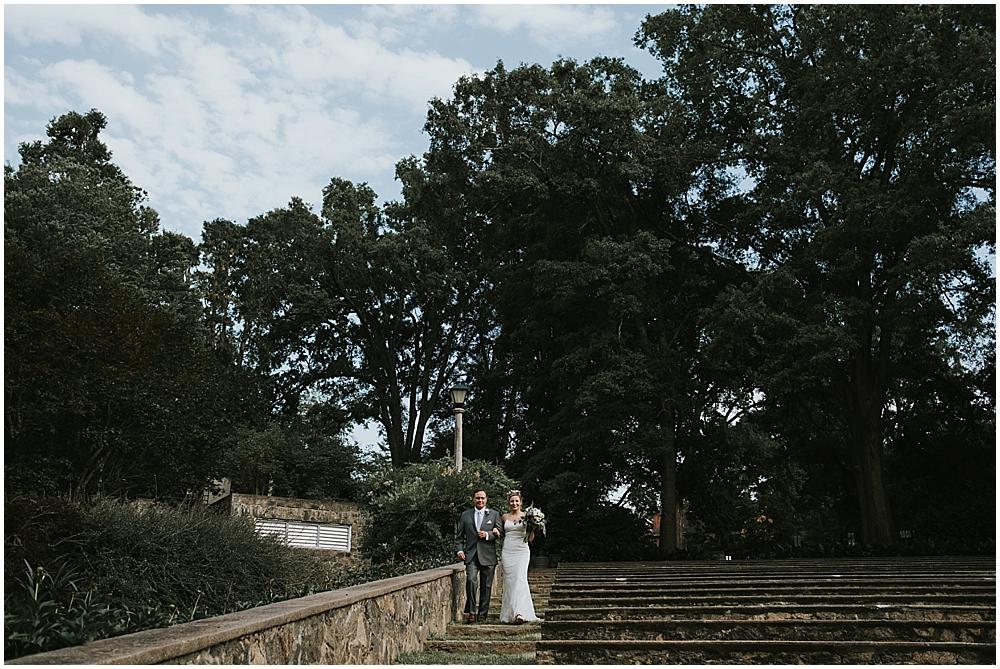 Raleigh amphitheater wedding