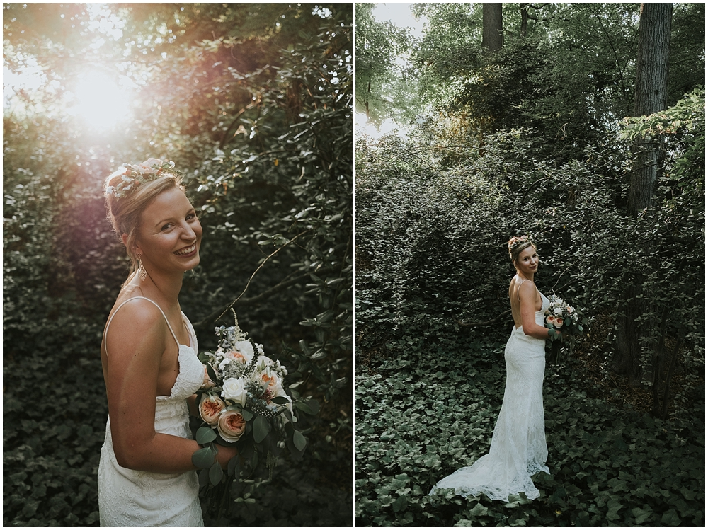 Raleigh Outdoor bridal portraits