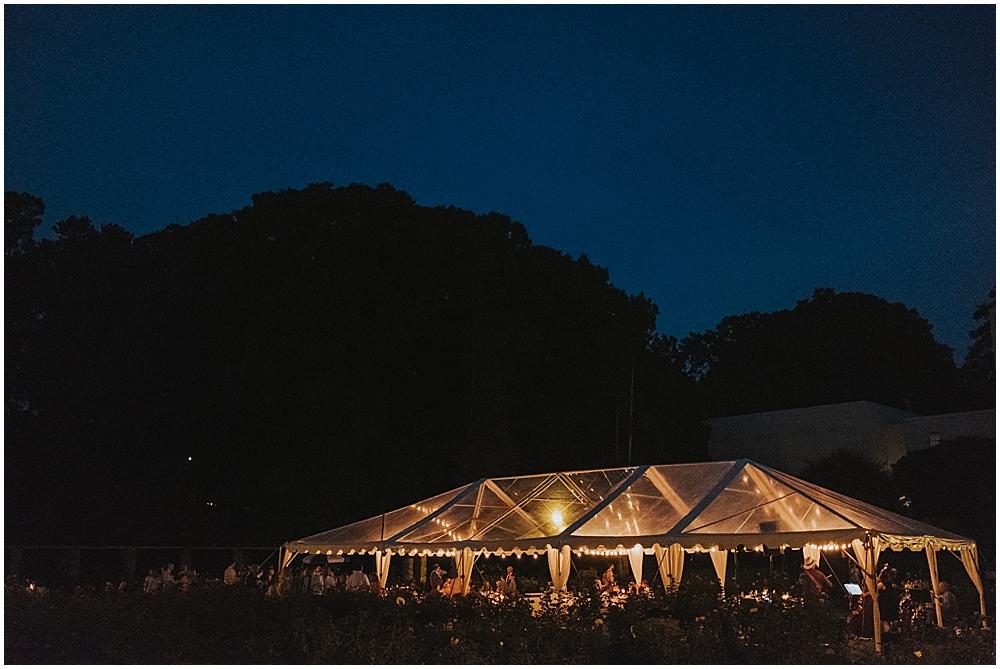 Raleigh Outdoor Wedding Reception