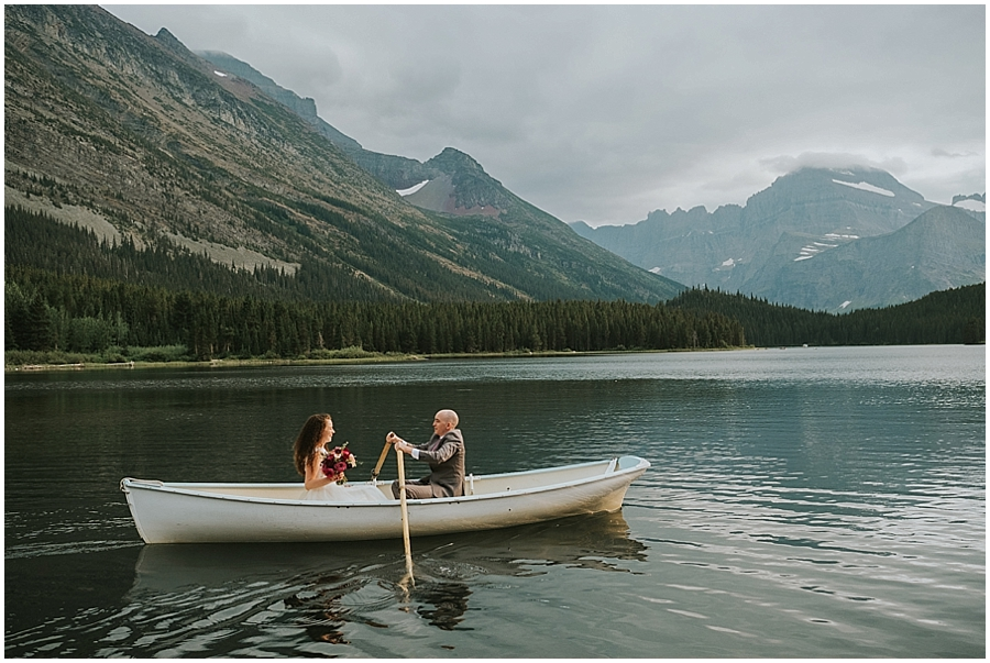 Montana Lake McDonald Elopement