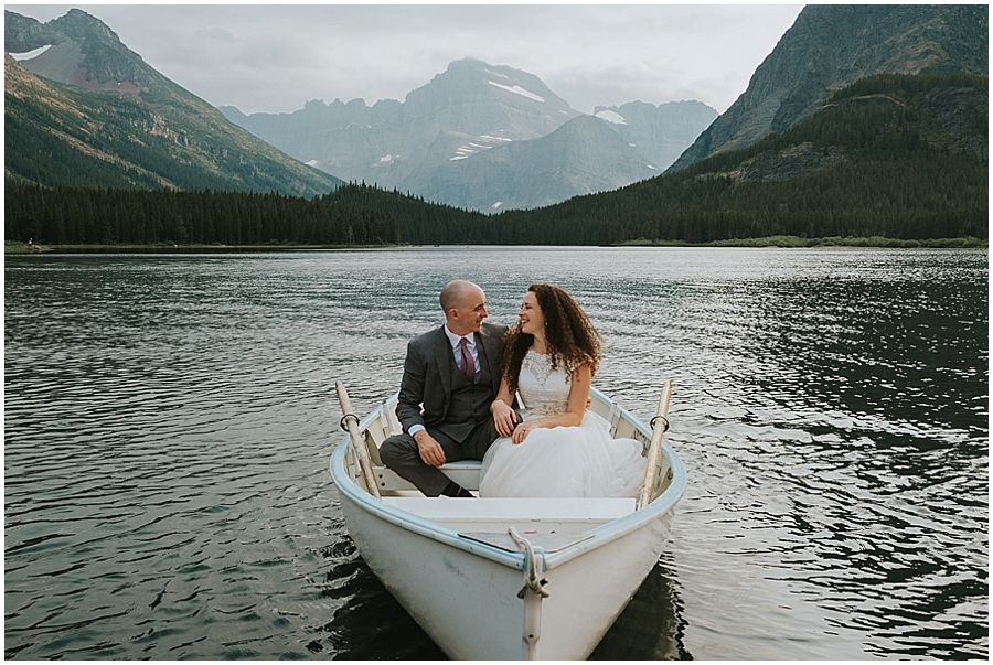 Logan Pass Montana Wedding Photographer