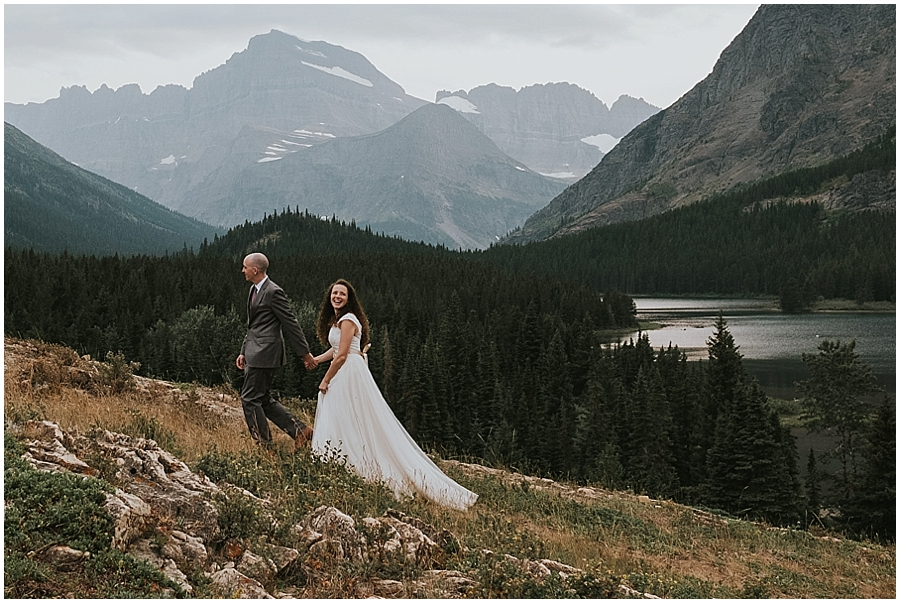 Glacier National Park Elopement Adventure