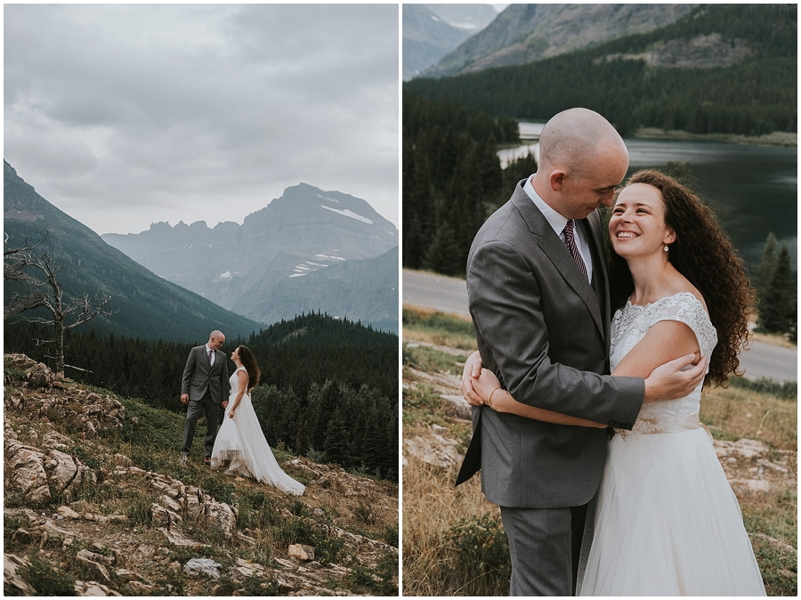 Montana National Park Wedding