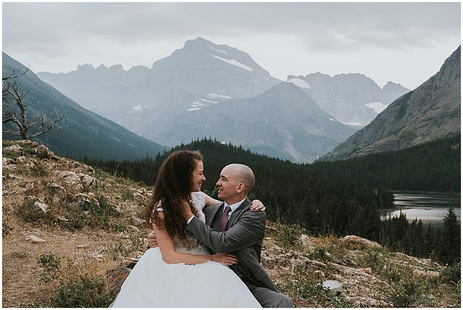 Wedding in Glacier National Park