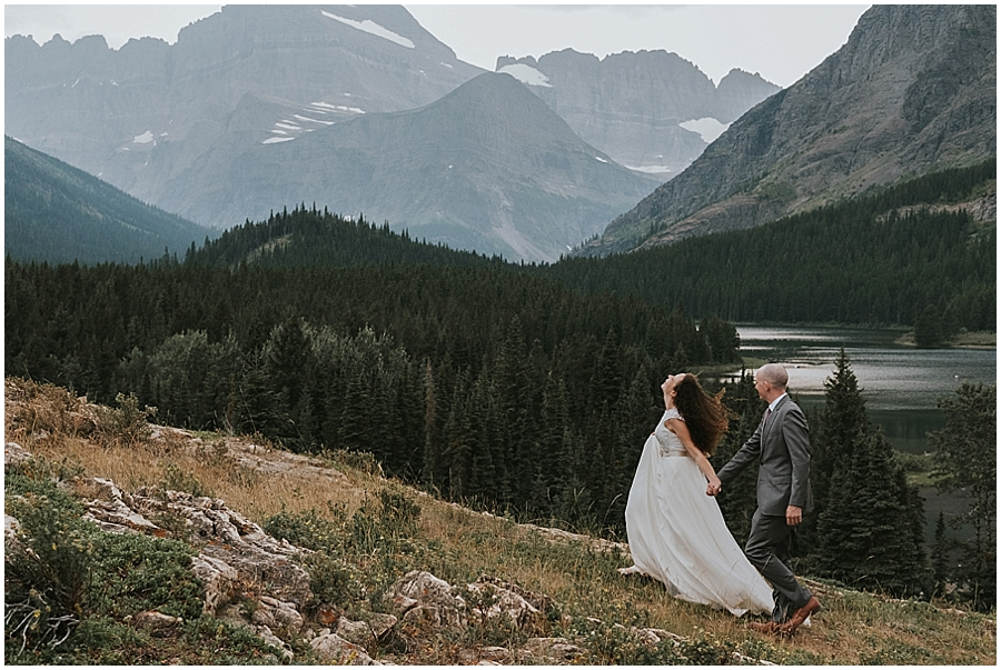 Elopement at Lake McDonald