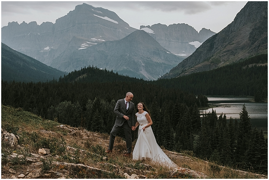 Married in Montana Mountains
