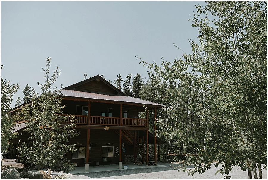 Montana outdoor wedding venue