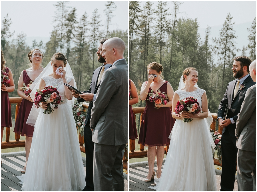 Logan Pass outdoor wedding