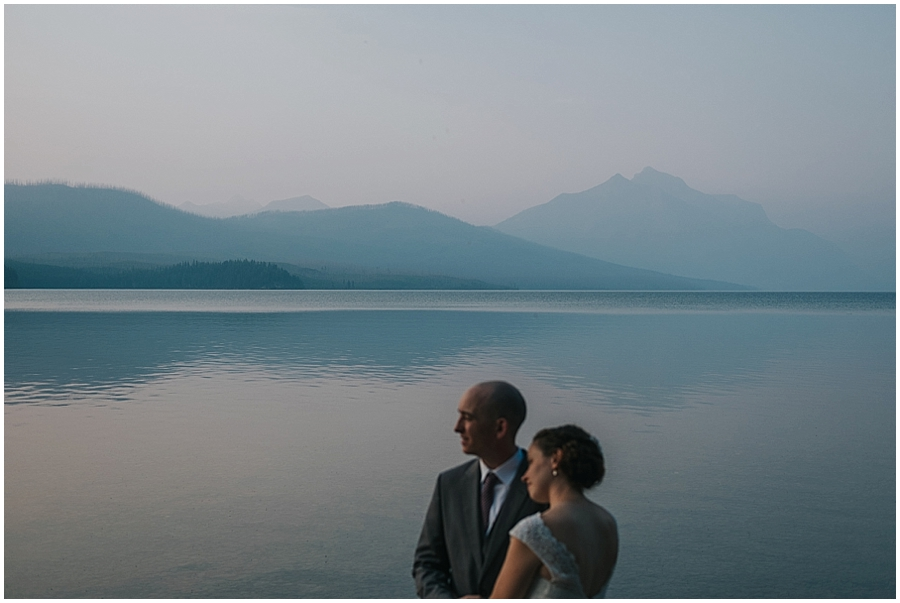 Glacier National Park elopement site