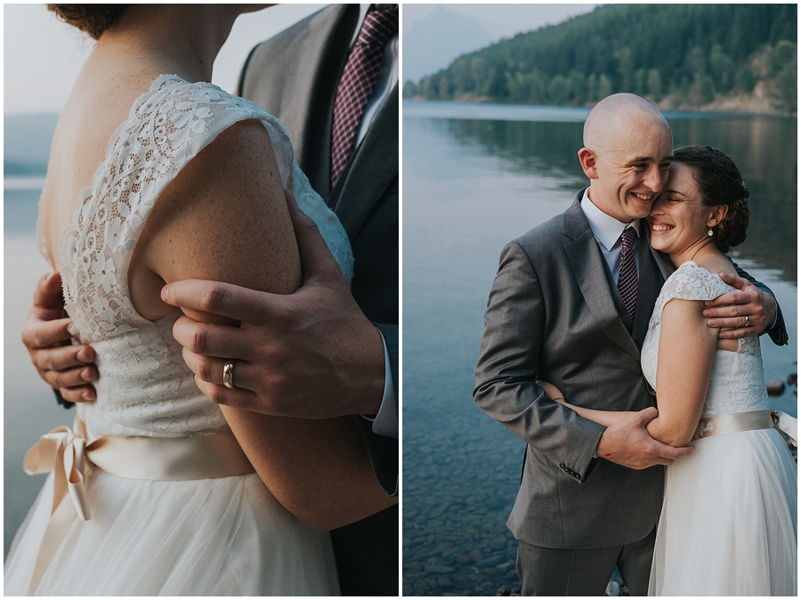 Glacier National Park outdoor wedding venue