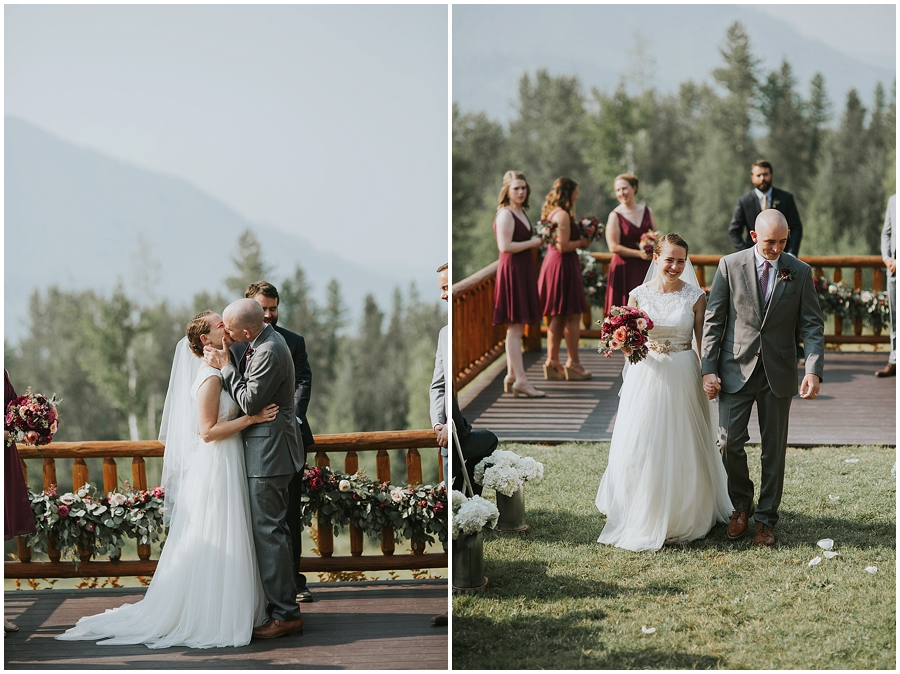 Logan Pass wedding venue