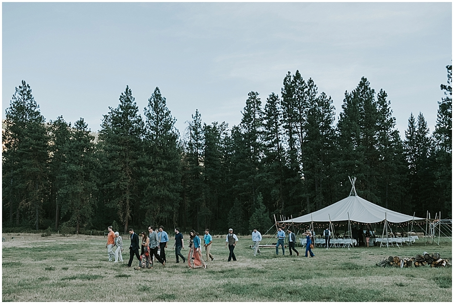 eastern Washington outdoor wedding venue