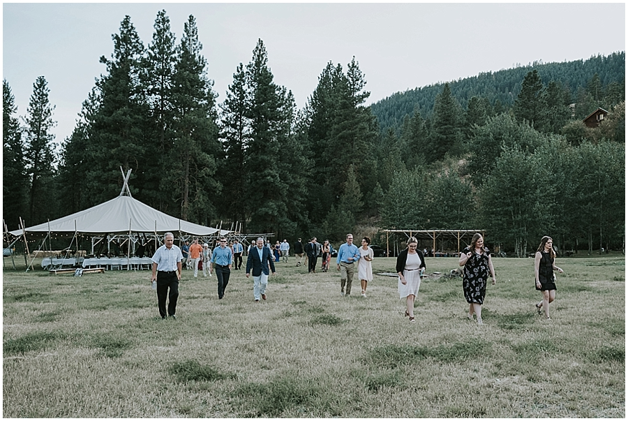 Winthrop Washington outdoor wedding venue