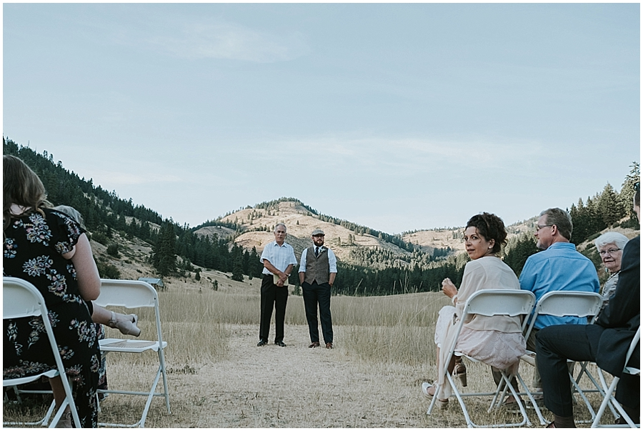 Methow valley outdoor wedding
