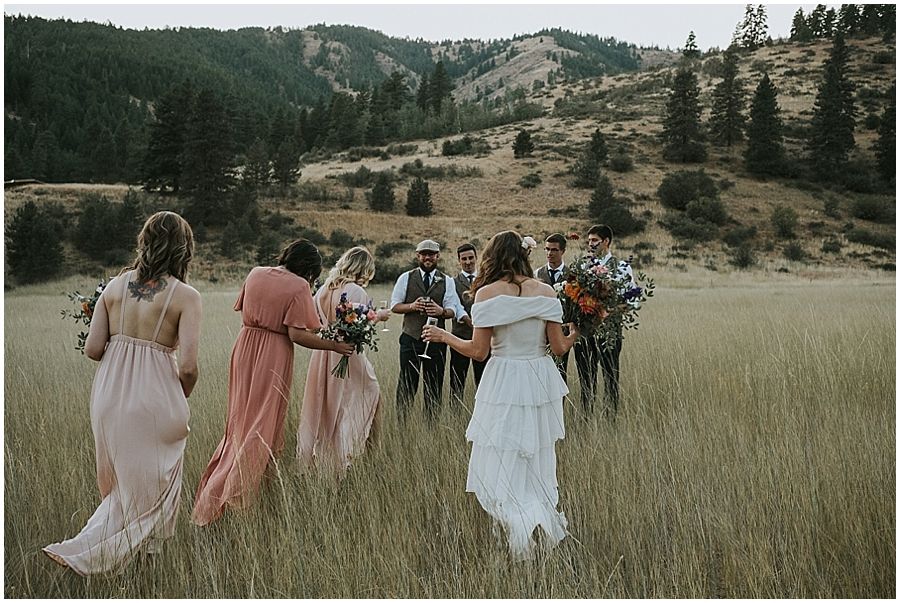 Skalitude outdoor wedding