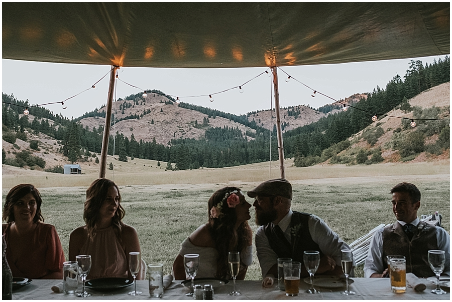 eastern washington wedding