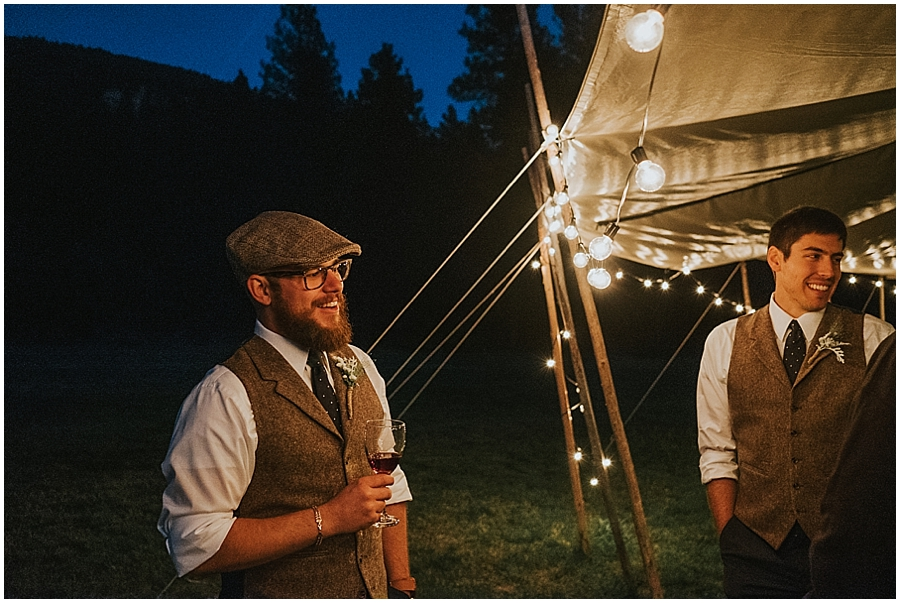 portland tipi wedding