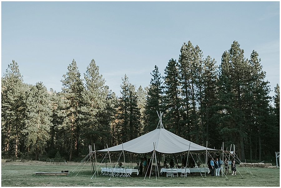 North Cascades National Park wedding venue
