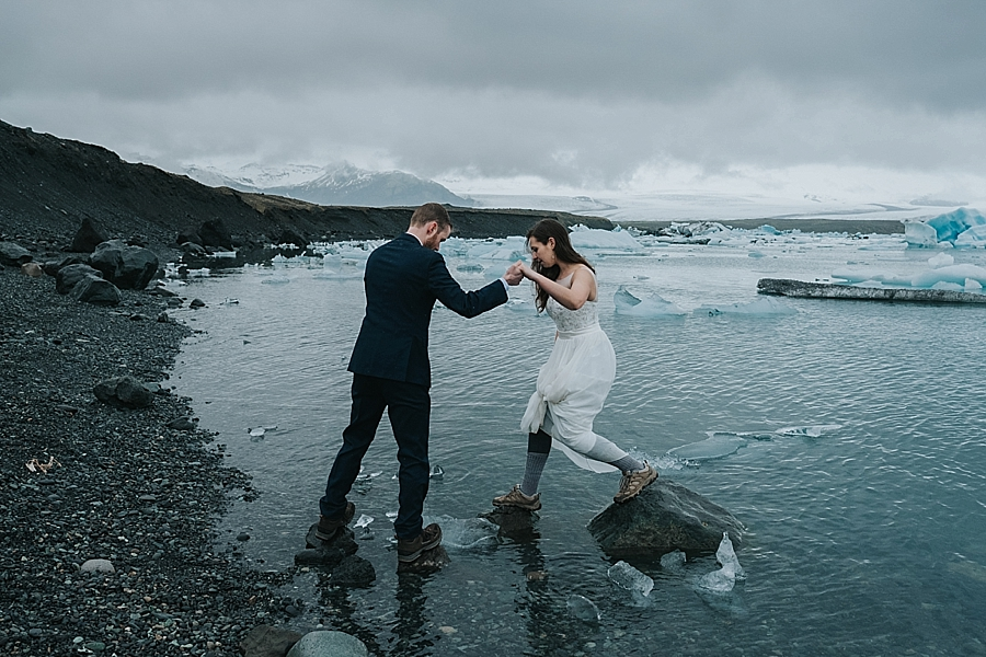 South Iceland adventure elopement