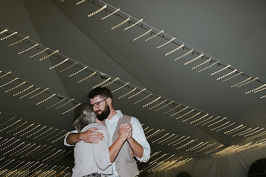 Artistic wedding photos in Asheville NC