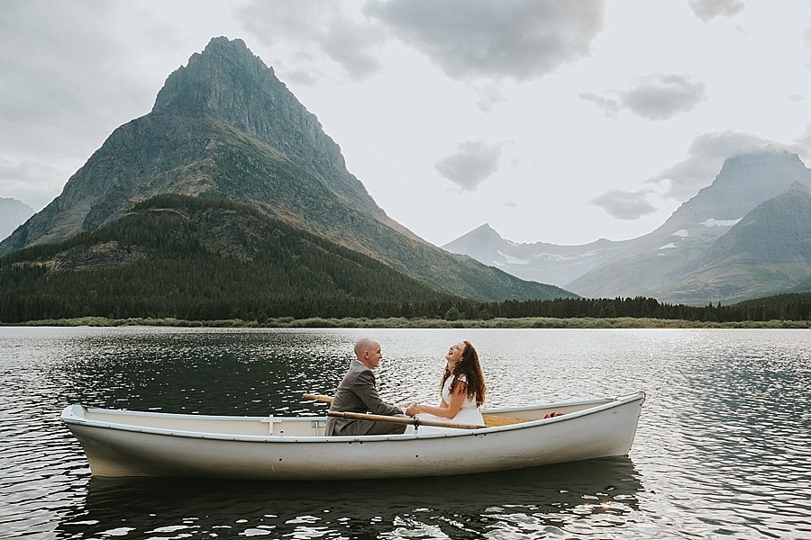 Glacier National Park wedding Montana