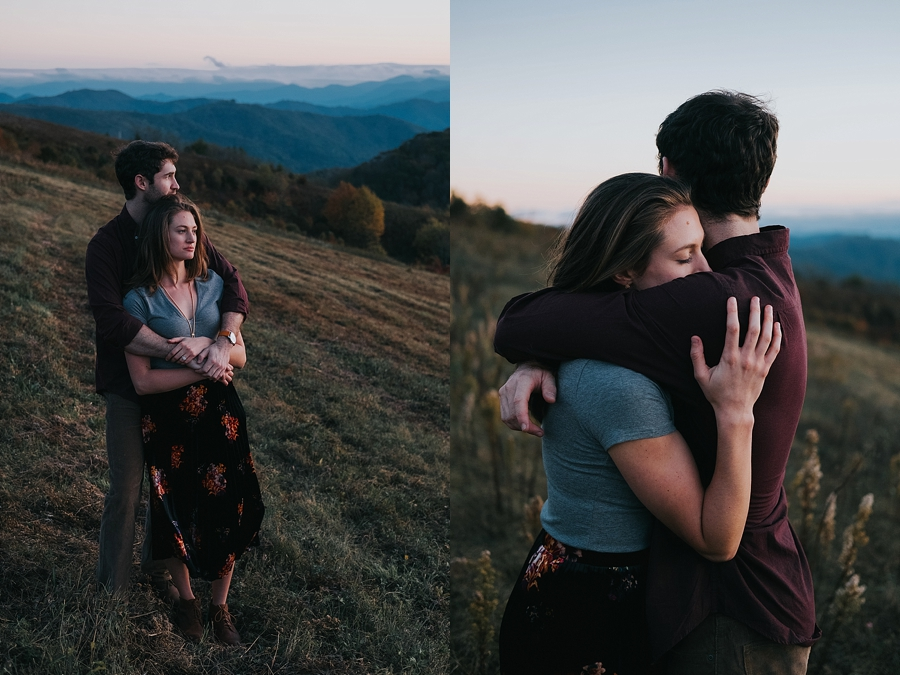 Max Patch mountain Asheville NC wedding