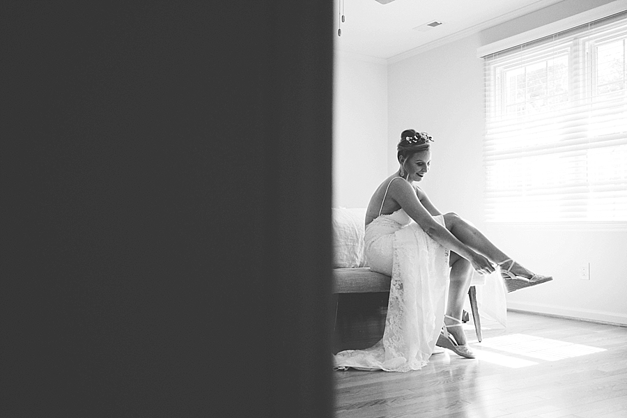 creative Asheville wedding photographer